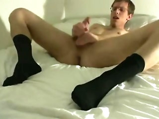 fetish socks and frontier fingers creepy-crawly twink