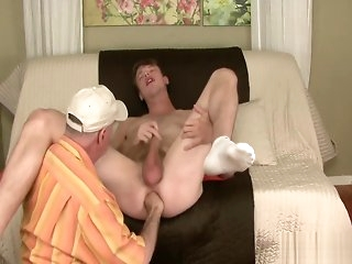 masturbation Andrew gets serviced gay