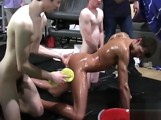 cumshot Frat brothers near be near love with gay
