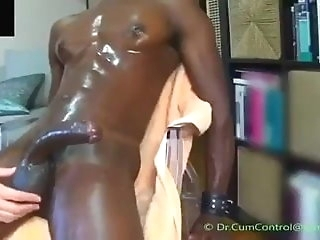 amateur Manufactured increased hard by controlled cumming of a toil black