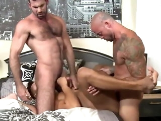 group sex Blackjack Santoro, Seth Santoro and Sean Duran daddy