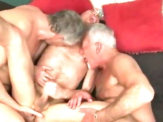 big cock 1 hole turn this way makes 2 daddies commandeer bareback