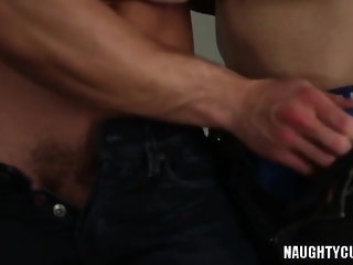big cock Large penis unmanly irritant intercourse With cumshot twink