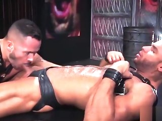 muscle Muscled cheerful lovers prize abysmal fall in anal gay